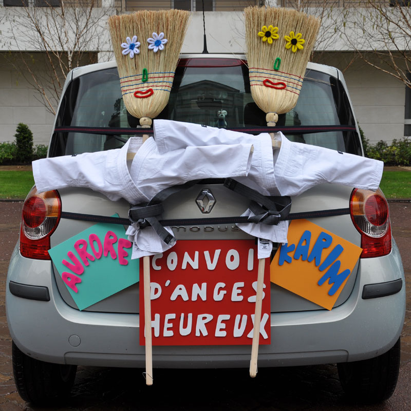 Decoration Voiture de Mariage Pas Cher Décoration Mariage Pas Cher