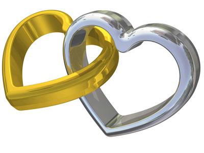 alliances mariage dessin