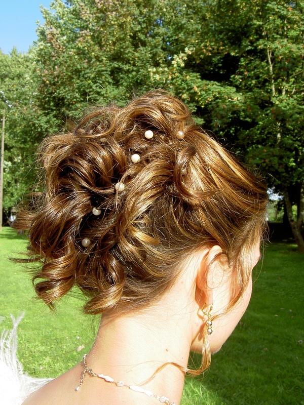 des photos de coiffure de mariage - Coiffure Pour Temoin De Mariage