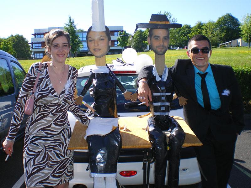 Gut bekannt Vos photos de voitures balai - Préparation Mariage - de l  TW95