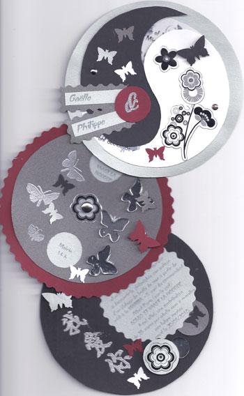 faire part mariage yin yang