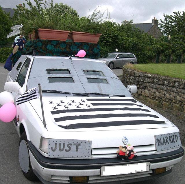 Decoration Renault L Mariage